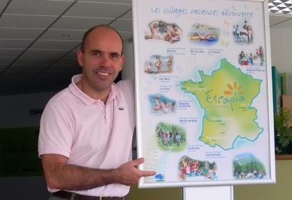 Christophe VILLEFROY, directeur du Village Vacances
