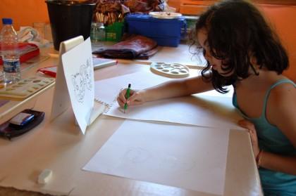 lac-de-castet-bielle-atelier dessin