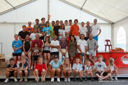 Tous les participants de la course à la montagne de Bielle 2009