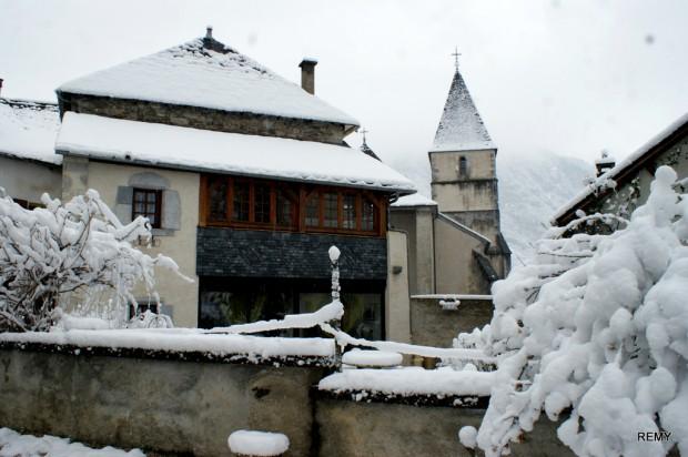 Bielle sous la neige 2013